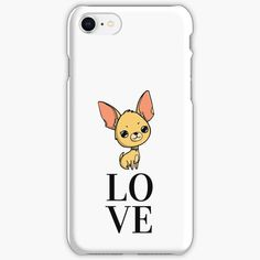 """""""Chihuahua love"""" iPhone Case & Cover by jakezbontar 