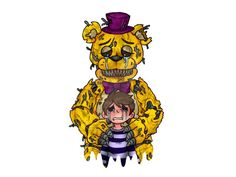 Which FNAF4 animatronic are you? I got Fredbear. The description for him is so sweet. You should try it!
