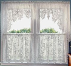 1000 Images About Lace Curtains On Pinterest Lace