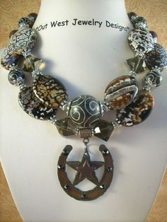 Cowgirl Necklace Set  Exotic Fire Agate with a by Outwestjewelry, $59.95