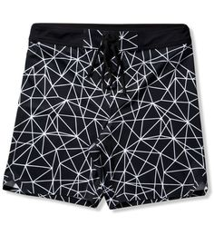 Geo-Light Printed Welded Stretch Board Short
