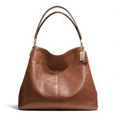 Coach Madison Small Phoebe Shoulder Bag In Leather (345 CAD) found on Polyvore (Coach.com)