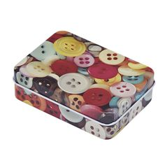 High Quality Small Storage Boxes Colour buttons Rectangular Gift Jewelry Box Home Decoration Free Shipping 12.16 #Affiliate