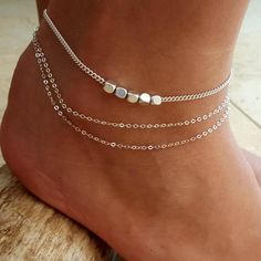 Meekcat Fashion Jewelry 925 Stamped Silver Plated Dragonfly Anklets Fashion Womens Anklet Bracelet & Foot Chains Good Quality Anklets