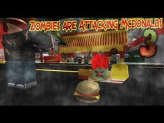 ROBLOX Trailer: Zombies are Attacking Mcdonalds 3!