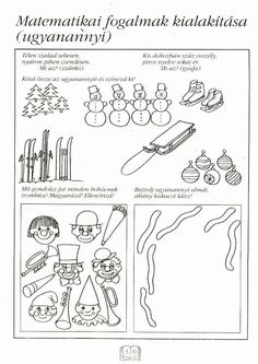Fotó: Worksheets, Kindergarten, Crafts For Kids, Notebook, Bullet Journal, Album, Math, Learning, Geometry