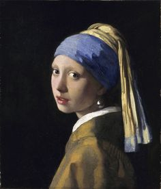 The Girl with the Pearl Earring. ca 1665 Inspiration for the book of the same name by Chevalier.
