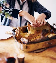 "I learn to cook while raising my family in England. Sunday Roasts were the easiest once I mastered the timing. Yorkshire pudding and Roast ""Beast"" were my favorite to prepare. Don't forget the crispy roast potatoes, pan gravy and horseradish!"
