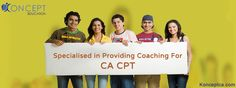 #KonceptEducation Specialised in providing coaching for #CA #CPT