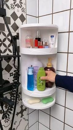 Small Closet Organization, Home Organization Hacks, Bathroom Organisation, Kitchen Organization, Hair Product Organization, Organized Bathroom, Small Bathroom Storage, Diy Kitchen Storage, Home Decor Kitchen