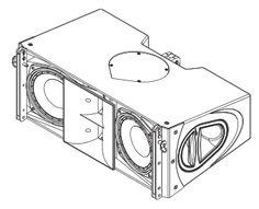 Image result for exponential front horn loaded speaker