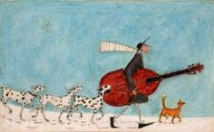"""Off We go a-Caroling"" - Sam Toft"