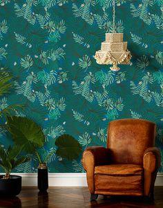 Poppytalk: Justina Blakeney X Hygge & West Wallpaper