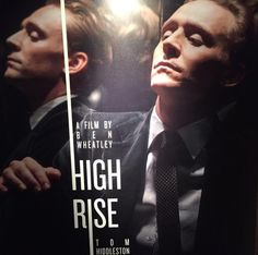 High Rise poster tweeted by @lukejwindsor (#TomHiddleston's publicist).