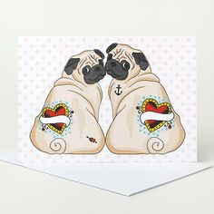 18 Awesome Dog Themed Valentines Day Greeting Cards