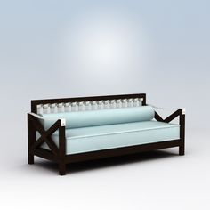 Cool Daybed - Twin mattress and bolster.
