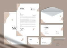 Simple Branding Identity Stationery Pack Keynote Template, Brochure Template, Flyer Template, Stationery Templates, Psd Templates, Brand Guidelines Template, Brand Identity, Branding Design, Simple