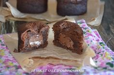 Fondant chocolat coeur nutella,un délicieux dessert,le meilleur des fondants,fondant chocolat facile au coeur coulant de nutella!