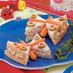 Butterfly Sandwiches