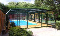 The K Series PLUS: Medium Height Swimming Pool Enclosure