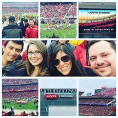 49ers vs Falcons!! Levi's Stadium!! #49ers #WeWon