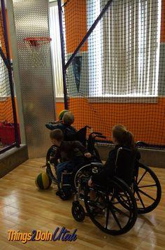 wheelchair basketcall - Children's museum - things2doinutah.com #utah #stgeorge