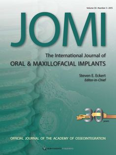JOMI 3 available now! http://www.quintpub.com/journals/omi/journal_contents.php?journal_name=OMI&current=1#.VVy3Q6bdK1k