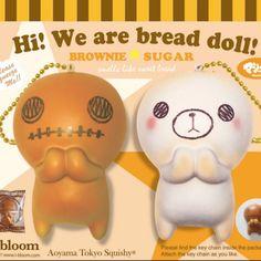 Jumbo i-bloom bread doll squishies in stock