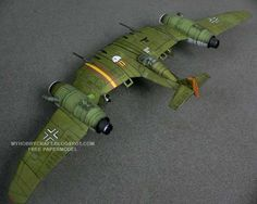 luftwaffe 1946, el ficcional Dusso skyfighter para armar....