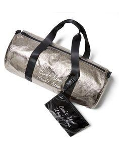 TWELVE NYC Metallic Duffel Gym Bag - 100% Exclusive