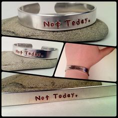 Not Today by flylikehermes on Etsy
