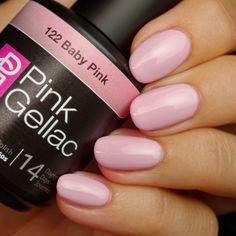 Pink Gellac 122 Baby Pink Gel-Nagellack via pinkgellac.de