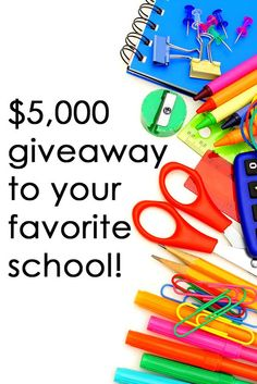 Enter our merchandise giveaway by July 31 to win a shopping spree for your school! Enter here: https://woobox.com/6sqokg