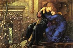 Love Among the Ruins - Edward Burnes-Jones 1894