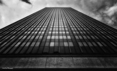 https://flic.kr/p/Ggofcp | It All Depends on How You Look at It | Vertical abstract view of an office building in downtown Oklahoma City