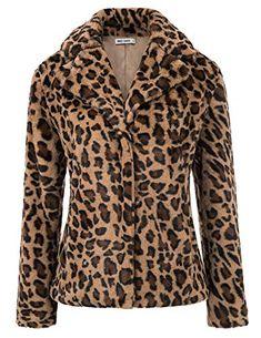 FNKDOR Manteau /à Capuche Femmes Grande Taille Hiver Chaud Fausse Fourrure Capuche Veste L/âche Poches R/étro Impression /Épais Parka