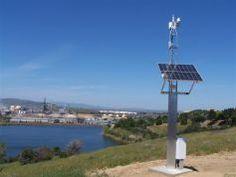Solar powered wireless backhaul