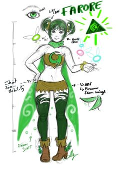 Redesign for Farore. So I will refine the two other too Farore Botw Zelda, Legend Of Zelda Memes, Fan Drawing, Fantasy Women, Breath Of The Wild, Anime Comics, Manga, Mythical Creatures, Cool Artwork