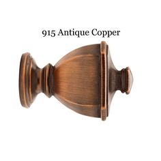 CAMBRIA CLASSIC SOLID WOOD FINIALS ASSORTED STYLES AND COLORS
