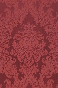Bordello Chic: Immerse yourself in a make-believe world Wallpaper Ceiling, Of Wallpaper, Pattern Wallpaper, Vino Color, Patterned Paint Rollers, William Morris Patterns, Motifs Roses, Victorian Wallpaper, Pretty Backgrounds