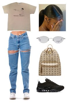 """Untitled #33"" by jaliyahwilliams on Polyvore featuring NIKE, MCM and Chanel"