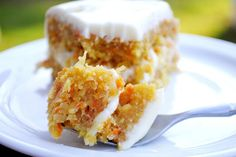Simply from Scratch » Carrot Coconut Cake with Pineapple~~Cream Cheese Frosting!  YUM!