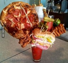 I'm on a diet.. I'll just have a shake
