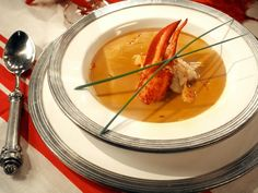 Get Creamy Lobster Bisque Recipe from Cooking Channel