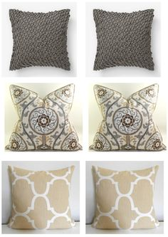 Mixing Pillow Patterns And Colors For The Home