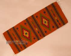 Southwest Zapotec Indian Table Runner Southwestern Home Decor Style Pueblo