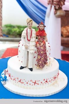 classic Nigerian traditional engagement wedding cake pictures perfect for traditional weddings.