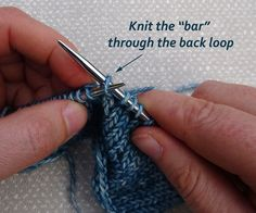 How to Increase or Decrease Knitting Stitches - Learn to Knit for Beginners - Lesson 6 Welcome back to Lesson 6 of my Learn to Knit for Beginners Course. I will show you how to increase knitting stitches and how to decrease knitting stitches. Beginners Knitting Kit, Knitting Basics, Easy Knitting Projects, Knitting Kits, Crochet Patterns For Beginners, Knitting Stitches, Knitting Patterns, M1l Knitting, Knitting Ideas