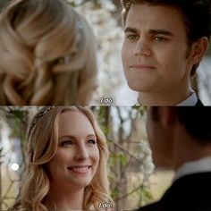 They both looked so happy while saying I do. I just can't do this anymore. I keep on torturing myself by watching the episode and the scenes over and over again. I'll probably be posting all day long because I just can't stop. I'm so happy and all I can think about is steroline. I will never love another couple as much and never ship another couple as much as I ship steroline. I would give my live for those two idiots