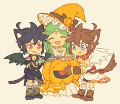 Kid Icarus - Pit, Palutena, and Dark Pit